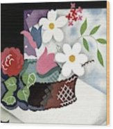 House And Garden Summer Furnishings Number Cover Wood Print