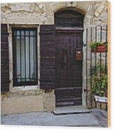 House Arles France Dsc01809  Wood Print