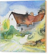 House In Germany Wood Print
