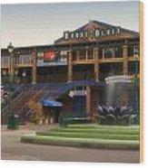 House Of Blues Downtown Disneyland Wood Print