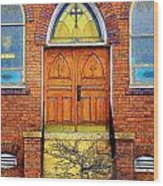 House Of God Wood Print