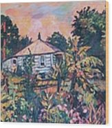 House On Route 11 Wood Print