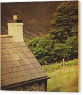 House On The Hills. Wicklow. Ireland Wood Print