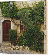 House Saint Paul De Vence France Dsc02353  Wood Print