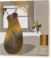 House Warming Wood Print