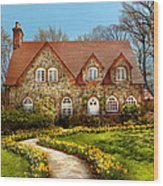 House - Westfield Nj - The Estates  Wood Print
