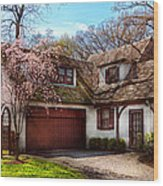 House - Westfield Nj - Who Doesn't Love Spring  Wood Print