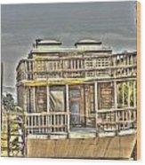 Houseboat 2 Wood Print