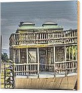 Houseboat 3 Wood Print