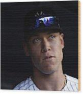 Houston Astros v New York Yankees Wood Print