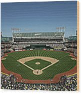 Houston Astros V Oakland Athletics Wood Print