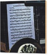 Houston Brass Band In Concert Wood Print