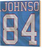 Houston Oilers Billy Whiteshoes Johnson Wood Print