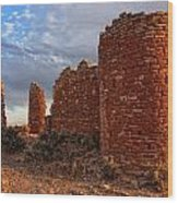 Hovenweep Castle Wood Print