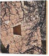 Hovenweep Window Wood Print