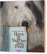 How To Be Your Own Best Friend Wood Print