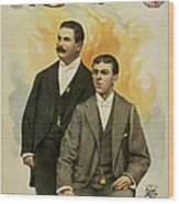 Howard And Stevens In Their Illustrated Songs Wood Print