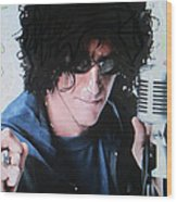 Howard Stern - Radio King Wood Print