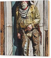 Howdy Wood Print