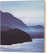 Howe Sound Wood Print