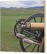 Howitzers Wood Print