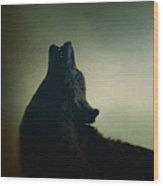 Howling Wood Print by Margie Hurwich