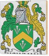 Howman Coat Of Arms Irish Wood Print