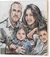 Hoy Family Wood Print