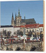 Hradcany - Prague Castle Wood Print