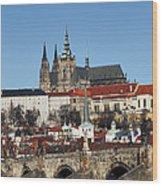 Hradcany - Prague Castle Wood Print