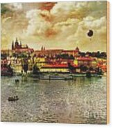 Hradczany - Prague Wood Print