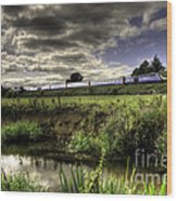 Hst In The Culm Valley  Wood Print