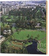 Het Park Wood Print