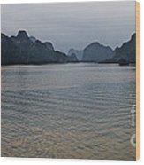 Hu Long Bay   #0705 Wood Print
