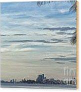 Hua Hin Coastline 02 Wood Print