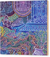 Huasi Yachana Wood Print