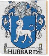 Hubbard Coat Of Arms Cork Ireland Wood Print