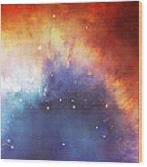 Hubble - Helix Nebula Comet - Like Filaments Wood Print