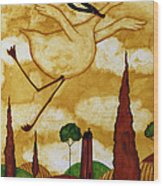 Soaring In Style Wood Print