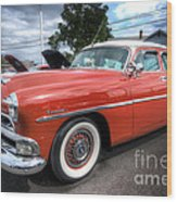 Hudson Hornet Wood Print