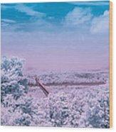 Hudson Valley Landscape Wood Print