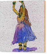 Hula Series Melika Wood Print