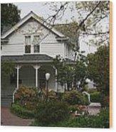 Hulda Klager House Wood Print