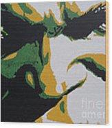 Hulk - Incredibly Close Wood Print