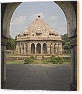 Humayuns Tomb, India Wood Print