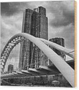 Humber River Arch Bridge 1392 Wood Print