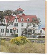 Humboldt Bay Coast Guard Station Wood Print