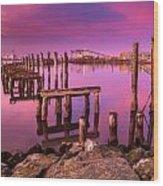 Humboldt Twilight Glow Wood Print