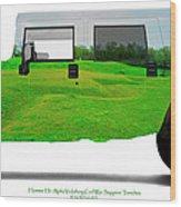 Hummer H1 Alpha Vicksburg Sappers Trench Wood Print