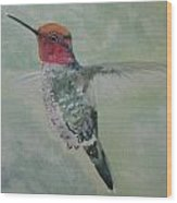 Hummingbird 3 Wood Print